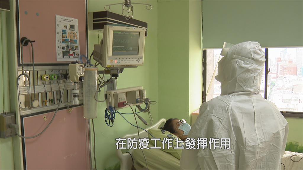 減少交叉感染風險 「零接觸系統」保護醫護