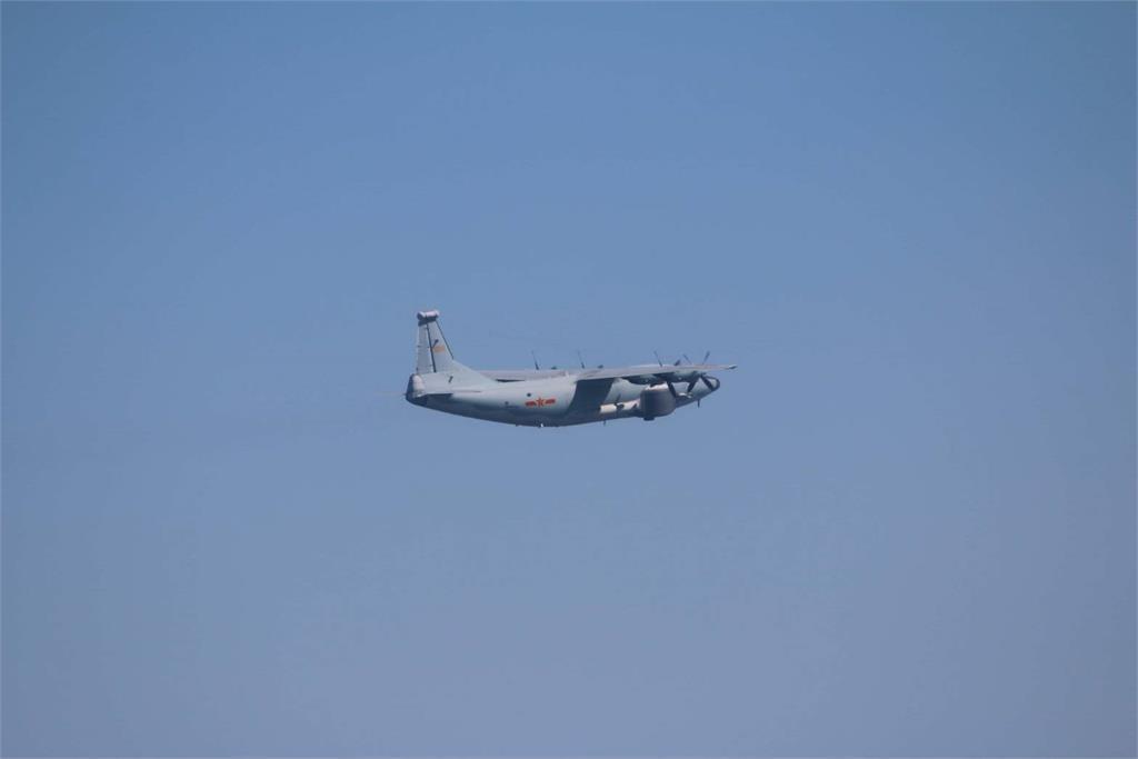 快新聞/又來! 中國今派2架軍機擾台 空軍防空飛彈追監