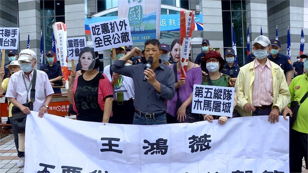 王鴻薇上央視遭罵翻 林鶴明:國民黨免借東風自己燒光