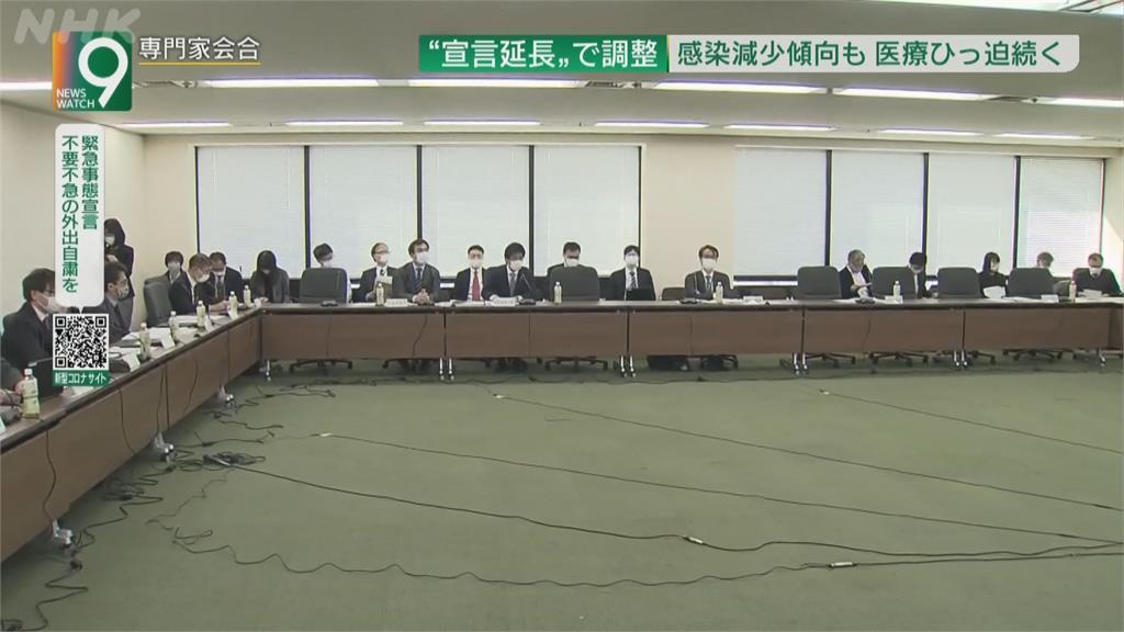 日本疫情燒不止 擬延長10都府縣緊急事態
