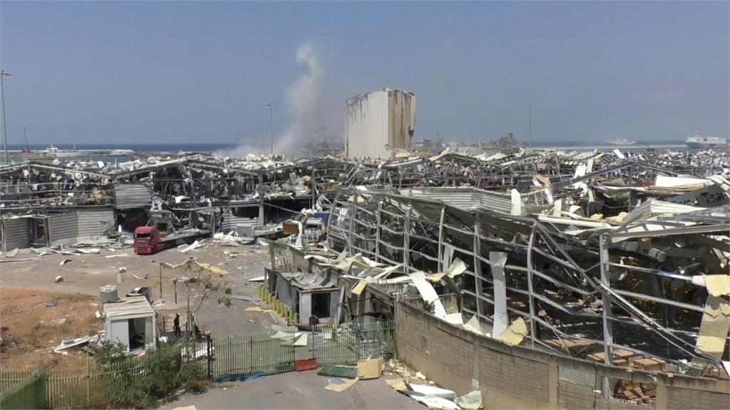 大爆炸摧毀穀倉 黎巴嫩經長:剩不到一個月存糧
