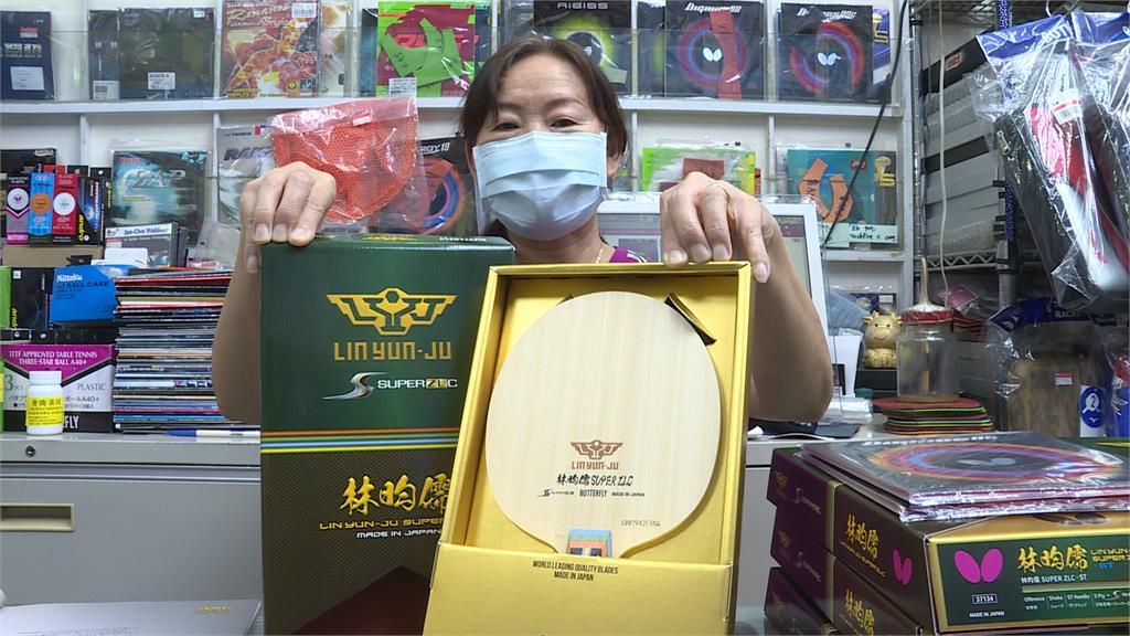 林昀儒東奧打響知名度 萬元球拍詢問度增三成 民眾:他燃起我的桌球魂