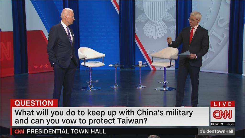 明確表示力挺台灣! 中國對台動作頻頻 拜登重申捍衛台灣承諾