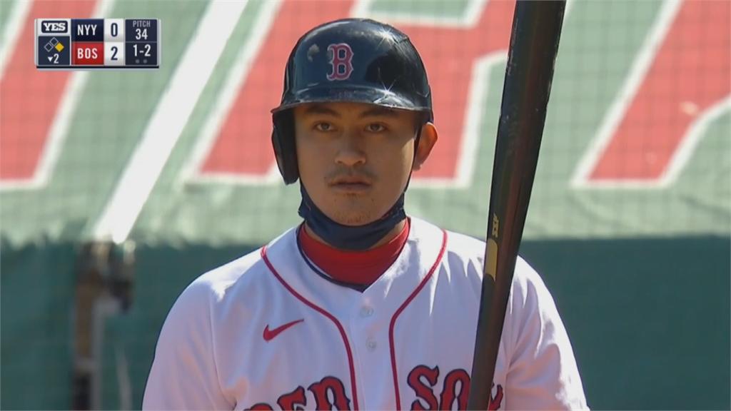 林子偉先發一分打點 紅襪中止洋基十連勝