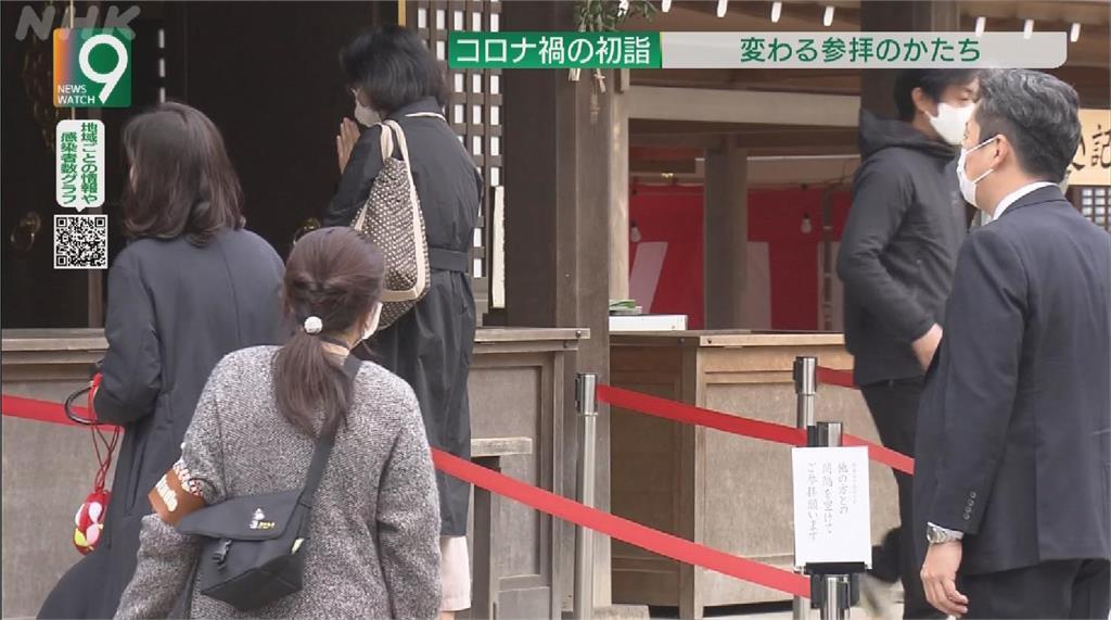 日本單日1661起病例創新多 神社憂新年參拜感染擴大