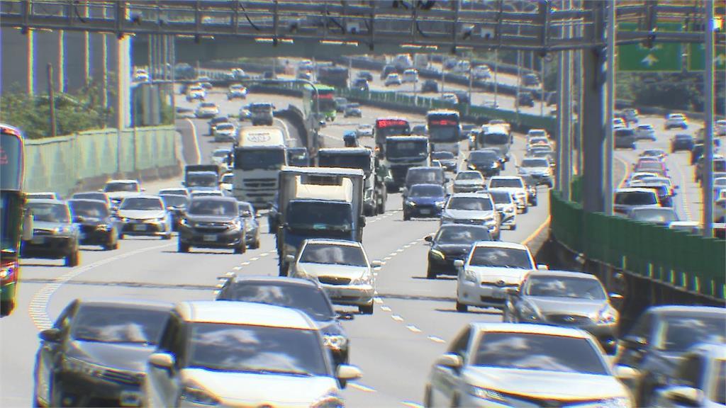快新聞/連假第二天國道湧車流! 高公局預估下午易壅塞6大路段