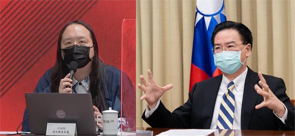 快新聞/吳釗燮攜手唐鳳投書以色列媒體 籲共抗網路安全威脅
