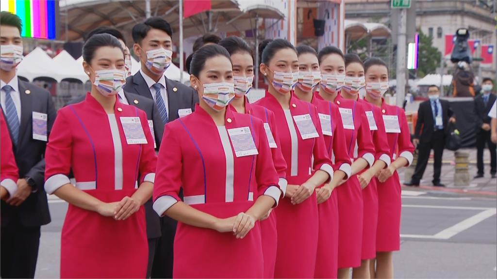 國慶典禮藏「嬌」點 親善大使戴口罩魅力無法擋