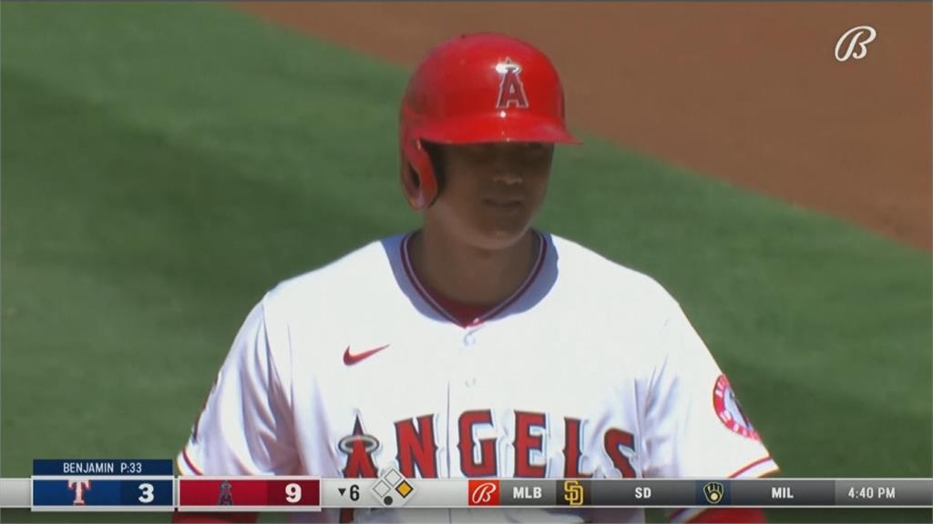 MLB/大谷翔平兩度締造單季60三振9盜壘 史上第一人