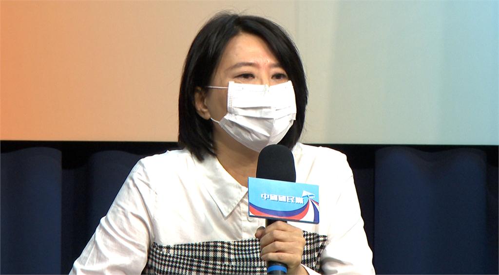 快新聞/王鴻薇登《央視》節目稱蔡英文「領導人」 王定宇批:發言令人不齒