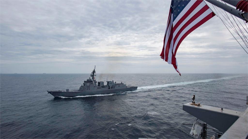 拜登任內第6度 美驅逐艦再度通過台海