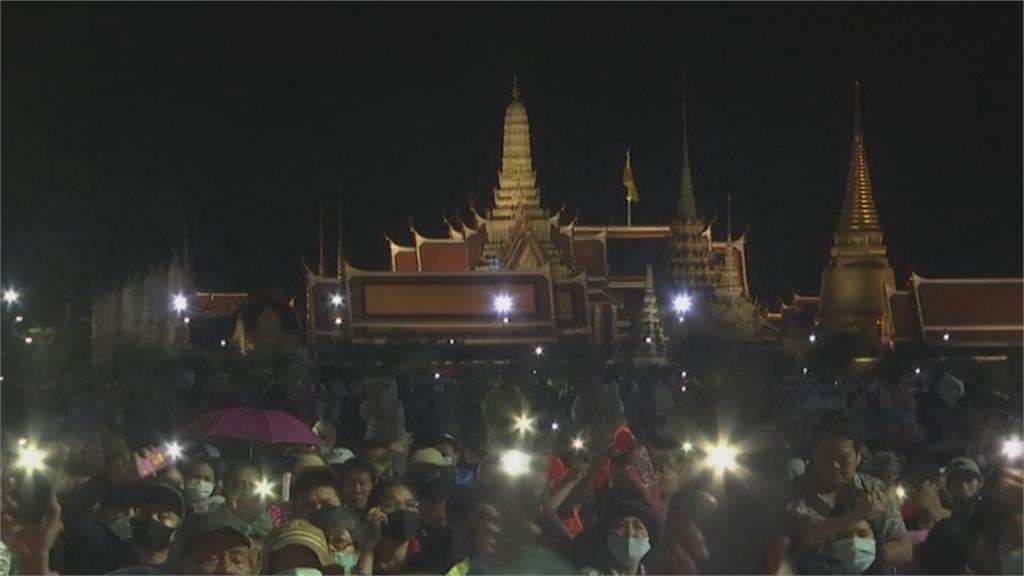 泰國最大規模學運!  5萬人上街要求改革王室