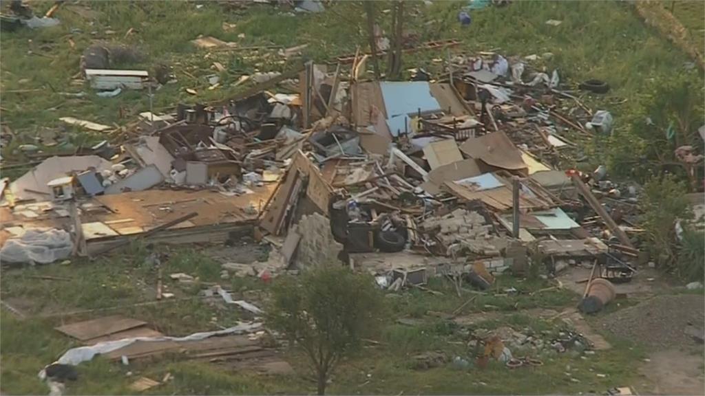 龍捲風肆虐美東南 多人傷累計三人死