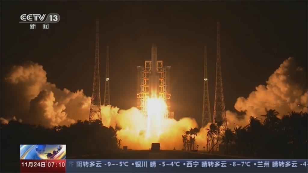 英媒:中國長征五號火箭失控 部分碎片恐墜地球