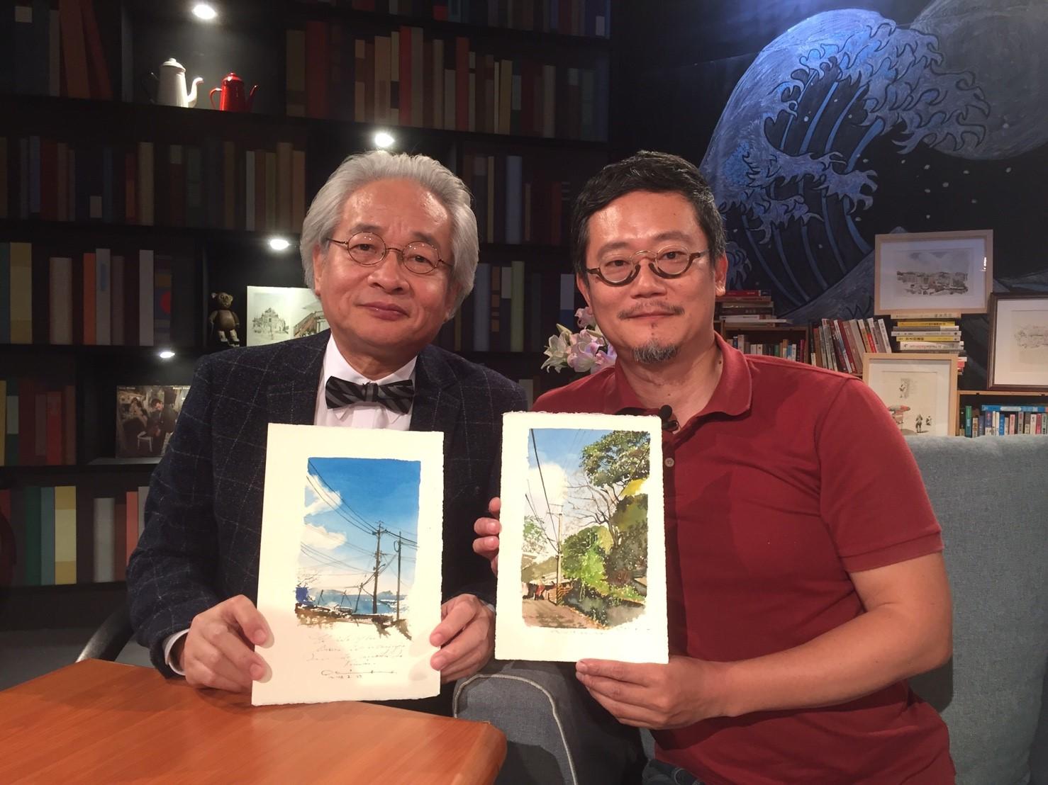民視「夜深人未靜」力邀畫家王傑 談談何謂「基隆熱」
