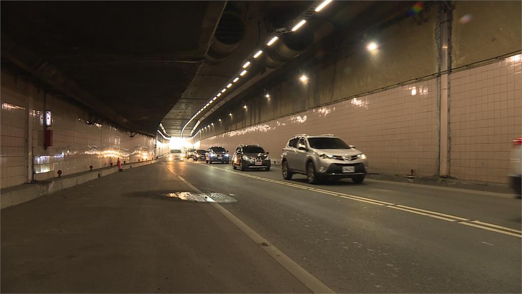 不再黑暗!北市8條隧道年前更新LED照明設備 用路人安全再升級