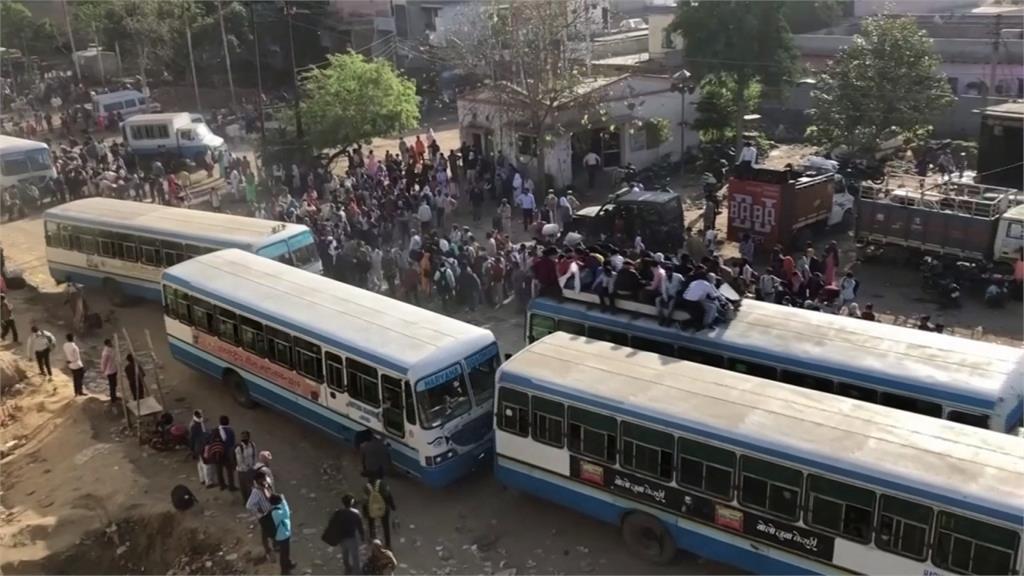 武漢肺炎/印度全國封城21天 1.2億流動移工陷「餓死危機」