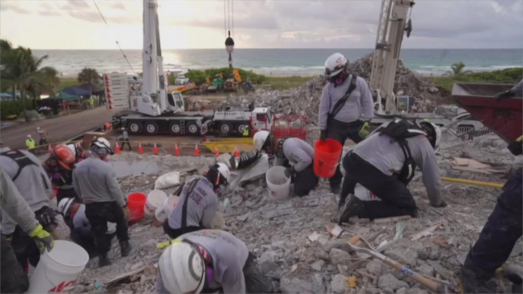 佛州大樓倒塌22死、126人失聯 大樓將拆除