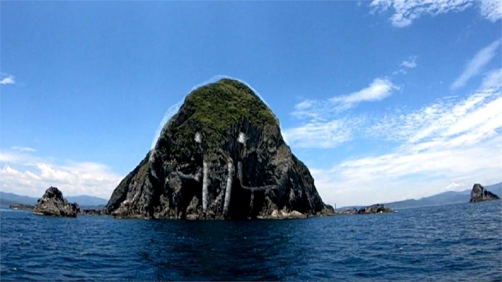 「台灣龍珠」基隆嶼添新稱號?遊客從東北方看如「大象」