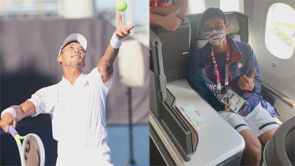 在外征戰1個多月!「網球一哥」盧彥勳今返台 網友淚喊:歡迎回家