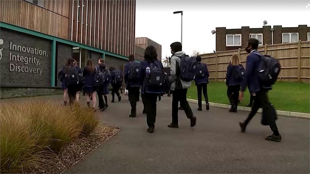 英國單日新增創去年九月底最低 學校開門復課