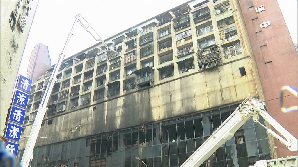 快新聞/高雄城中城惡火奪46命 陳菊悲痛發聲:願逝者安息、生者平安
