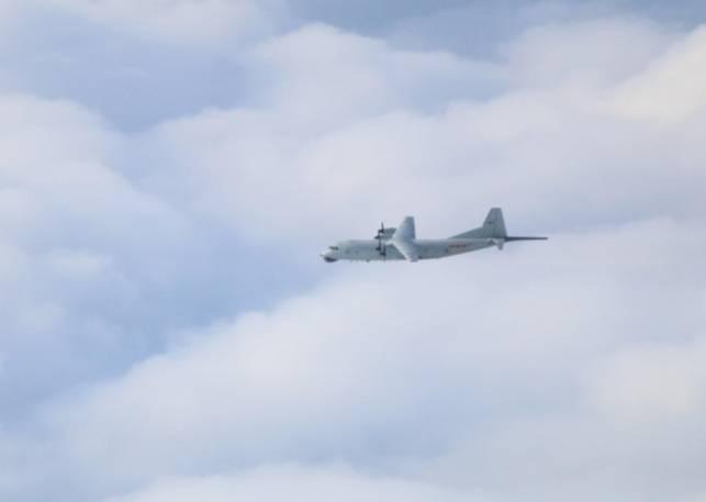 快新聞/中國軍機又擾台! 運-8反潛機1架次闖我西南空域
