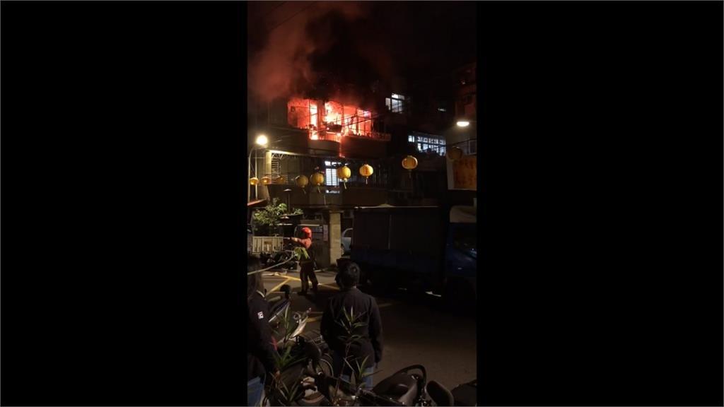 新北民宅凌晨火警 釀成一死兩傷