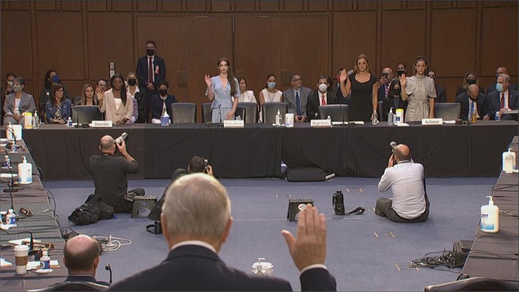 控相關單位包庇色魔隊醫納沙!奧運金牌拜爾絲淚灑國會聽證會