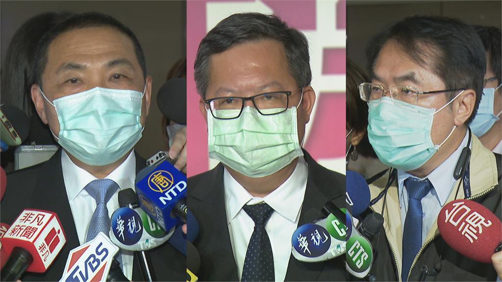 老謝的場子 賴清德與鄭文燦王不見王 幫總統跑行程 賴神笑稱「副總統不忙」