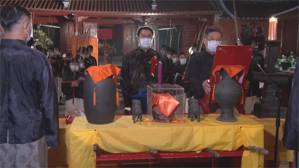 台南孔廟秋祭典禮 植樹紀念孔廟修復