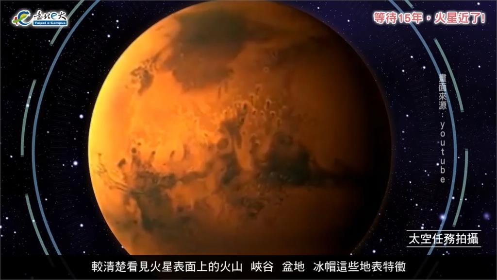 今晚「這時間」超大火星遇上紅月亮!錯過再等17年