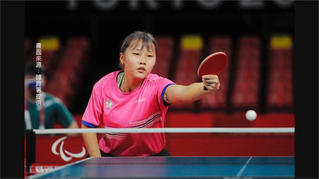賀!帕運初次登場勇奪銅牌 桌球女將田曉雯再戰團體賽