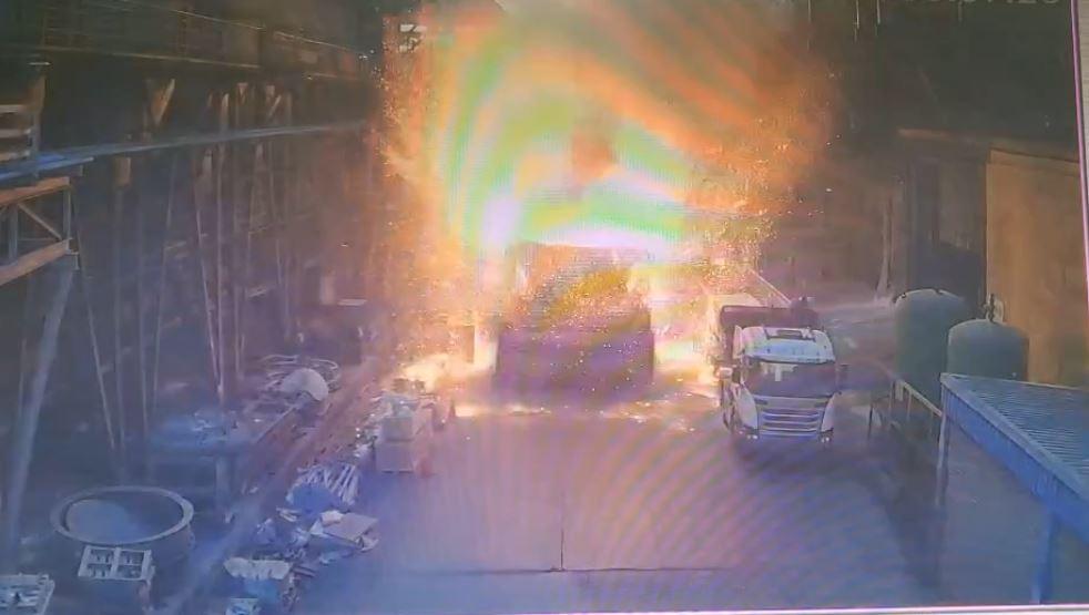快新聞/台中豐興鋼鐵千度爐渣爆炸 2工人燒燙傷急送醫