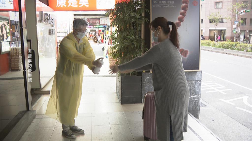 變種病毒加1 防疫旅館月底前再增1萬房 指揮中心:台商病毒疑雲「非旅館染疫」