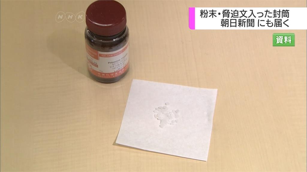 日本驚傳「毒信封」恐嚇事件  多家業者收到氰化鉀粉末