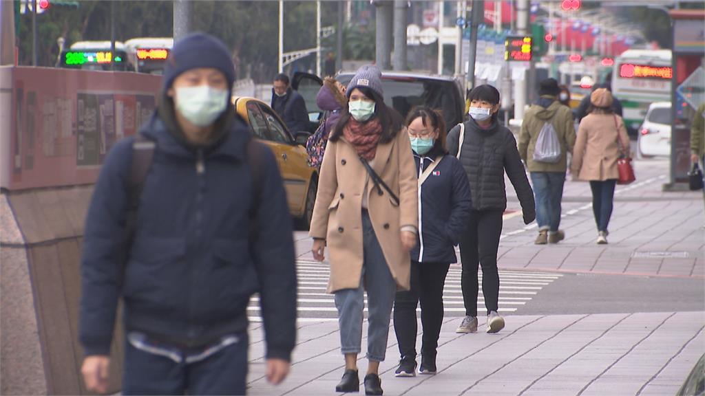 乍暖還寒!北台高溫驟降10度 冷空氣挾沙塵空氣品質轉差