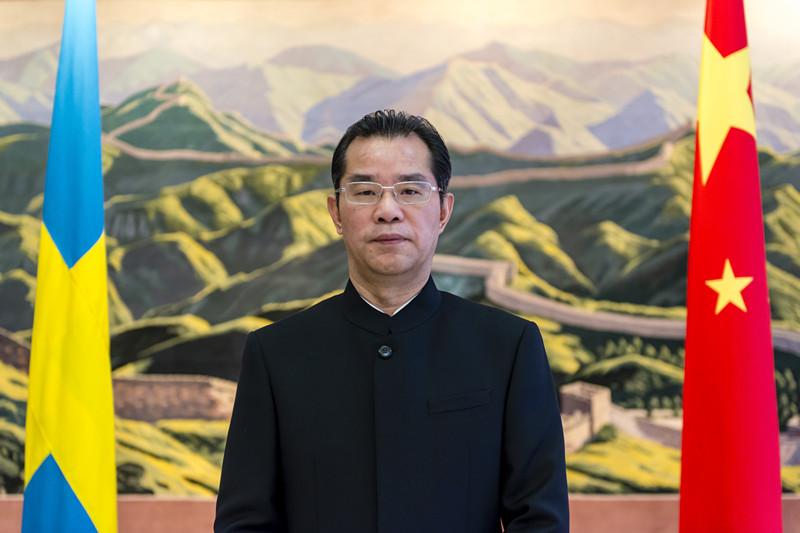 快新聞/「戰狼外交」多次威脅記者!瑞典在野黨怒:要求驅逐中國大使桂從友