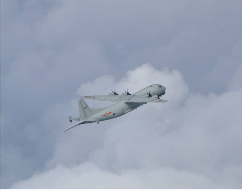 快新聞/共機又來了!1架運8反潛機闖我西南空域 空軍防空飛彈追監
