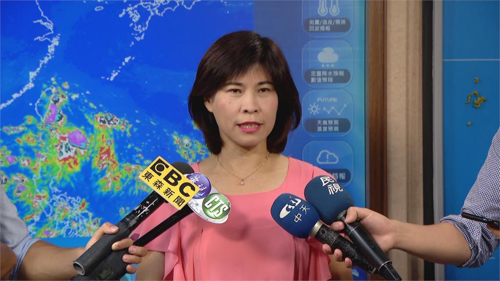 快新聞/無花果颱風往廣東移動 氣象局:東部、南部雨下整天