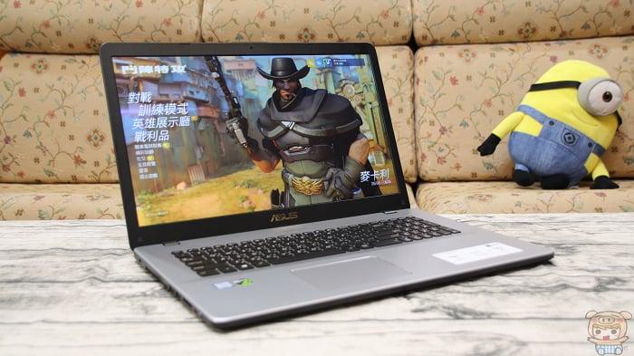 全新升級!Intel 第八代處理器、GTX1050 顯卡、17.3吋超大螢幕!CP值超高的親民首選!ASUS VivoBook Pro 17 N705UD 開箱評測!