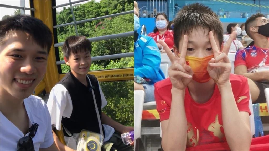 張眼即訓練!14年從未出遊過 東奧跳水金牌全紅嬋到動物園圓夢畫面曝光