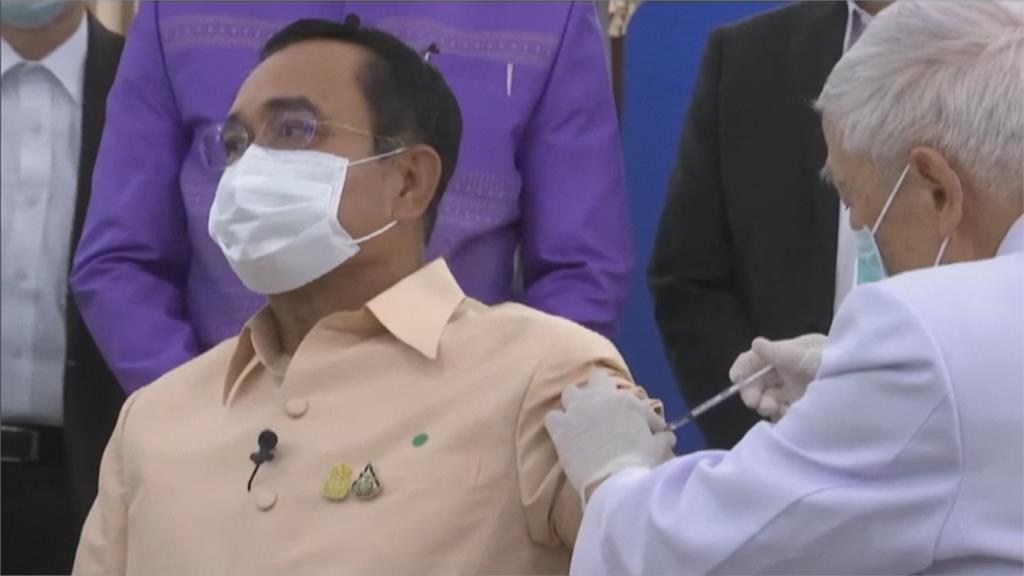 提升大眾信心! 泰國總理帶頭打AZ疫苗