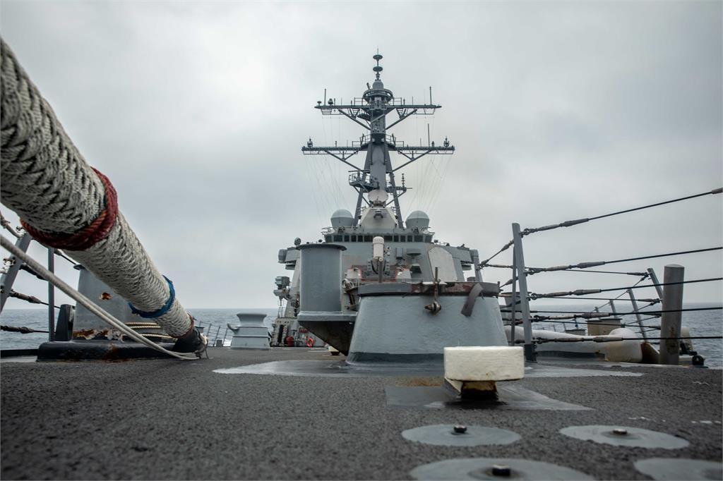 快新聞/美軍驅逐艦通過台灣海峽 拜登上任後第5次