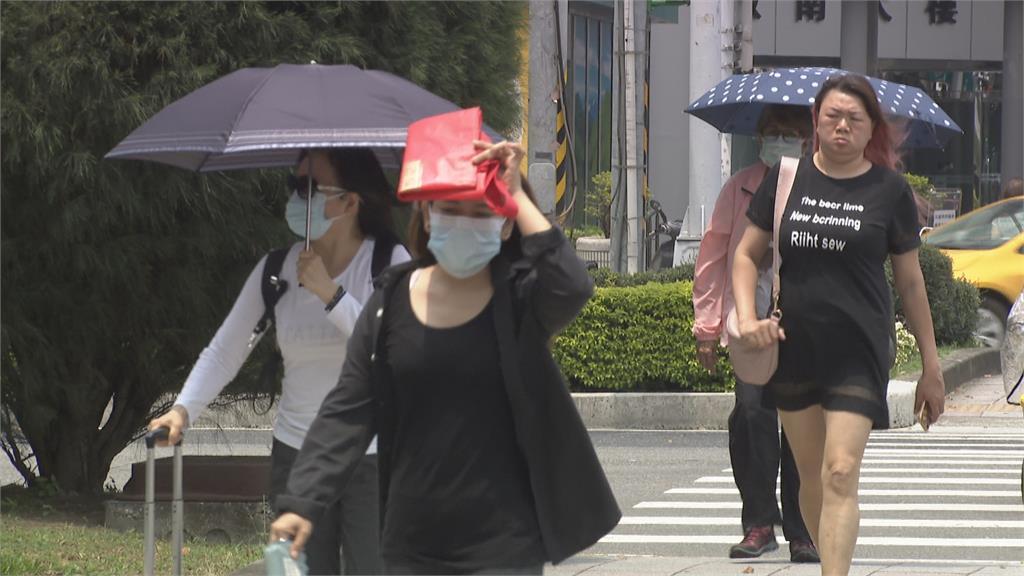 梅雨鋒面跳過台灣往北去? 未來一週高溫炎熱、雨水有限