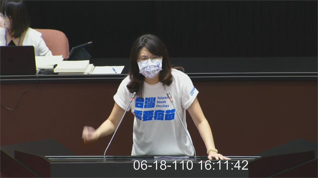 快新聞/立院審查紓困預算藍委不演了? 鄭麗文喊「我們一起擋疫苗」