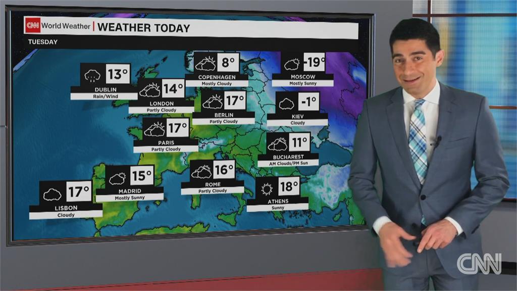 有如在洗三溫暖 德國一週內溫差40度