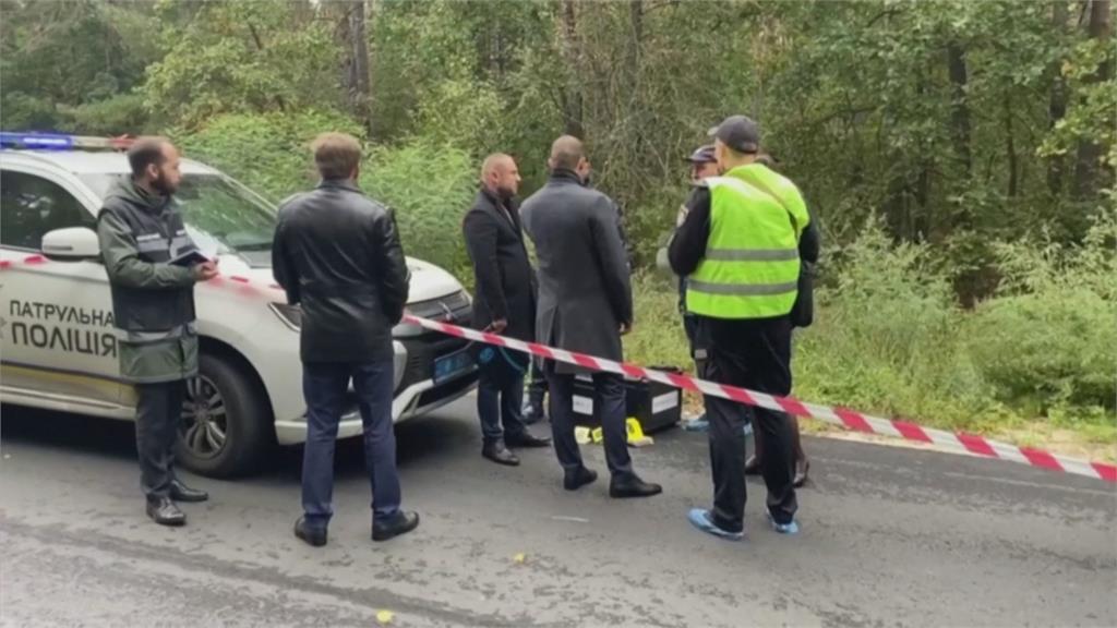烏克蘭總統幕僚座車遭槍擊 司機重傷.幕僚倖免