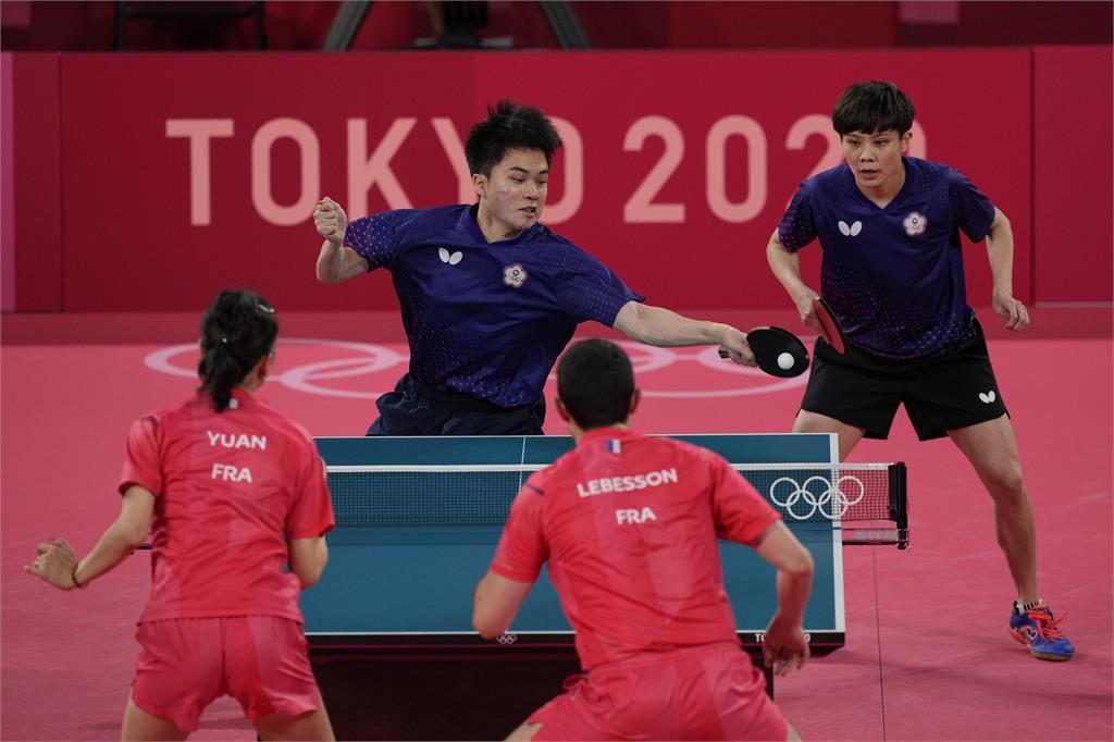東奧/跟上羅嘉翎!「黃金混雙」19歲林昀儒成台灣隊最年輕奪牌者