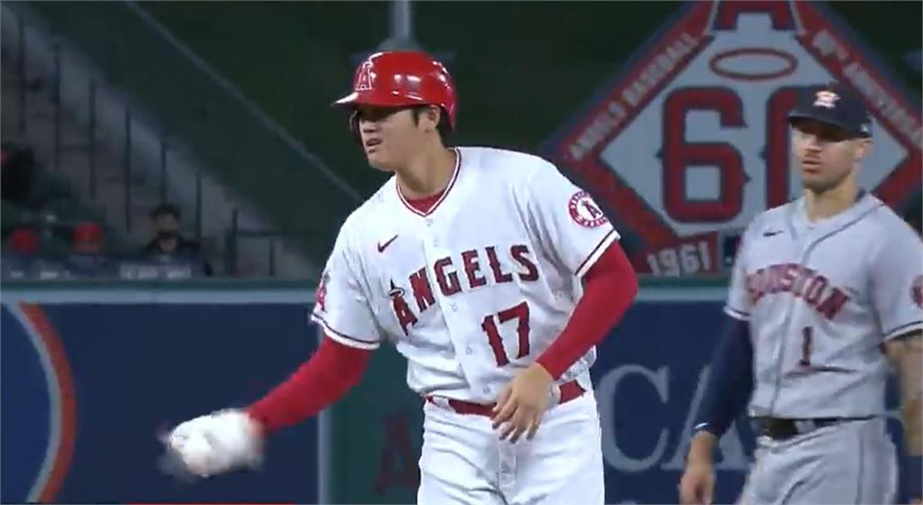 MLB/大谷翔平獲保送加盜壘建功 天使3比2勝太空人